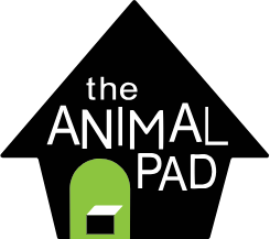 The Animal Pad all-breed dog rescue logo